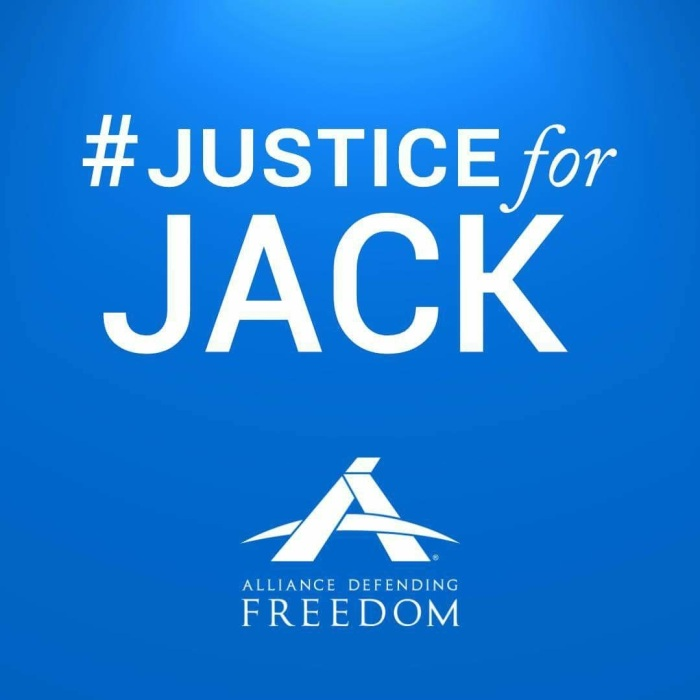 JUSTICE FOR JACK:  Religious Freedom in the Furnace