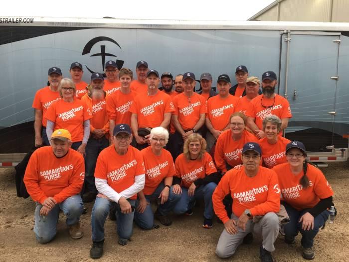 REBUILDING PEARLAND: A Day in the Life of a Samaritan's PurseVolunteer